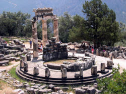 Delphi Christian Greece