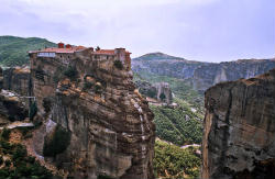 Meteora Christian Greece